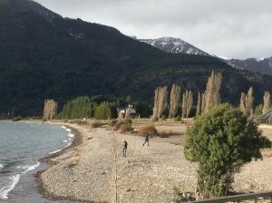 este lago,por exemplo,visitamos de carro depois que saímos um pouco antes da estação de esqui ...lindo né?